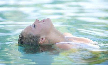 A Float Session with Massage at Essential Wellness Center (49% Off)
