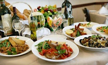 Italian Fare and Drinks for Two or Four or More at Bellissimo Ristorante Italiano in Amityville (Up to 58% Off)