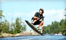 All-Day Wakeboard, Kneeboard, or Water-Skis Rental for One or Two at Wake Nation Cincinnati (Up to 54% Off)