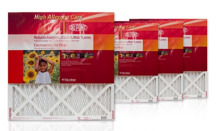 4-Pack DuPont Home Air Filters