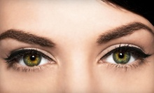 Eyelash and Brow Tinting with Option for Eyebrow Wax and Sculpting at Bella Reina Spa (Up to 57% Off)