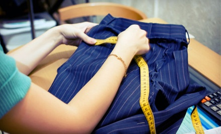 $10 for $25 Worth of Tailoring Services at Winnie's Fashion Design (60% Off)