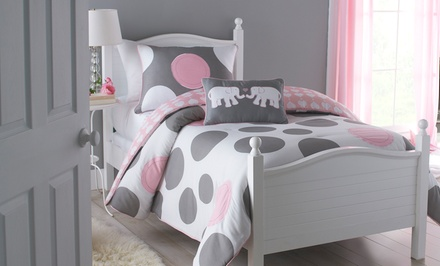 Pink Polka Dot Parade 2-Piece Comforter Set
