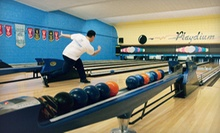 $19 for Five-Pin Bowling for Up to Six with Shoe Rentals and Pitcher of Soda at Playdium 5 Pin Lanes ($40 Value)