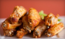 Four Dozen Wings for Four or $10 for $20 Worth of Bar Food at Chics N Wings 