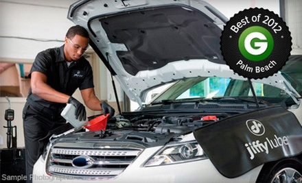 $20 for a Signature Service Oil Change with Safety Inspection and Fluid Check at Jiffy Lube ($41.99 Value)