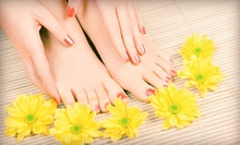 $32 for a Signature Spa Manicure and Pedicure at Kaya Beauty Spa ($65 Value)