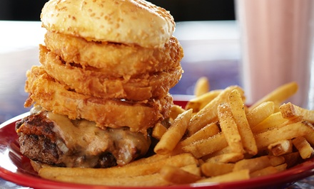 $9 for $16 Worth of Burgers and Drinks at Square 1 Burgers & Bar