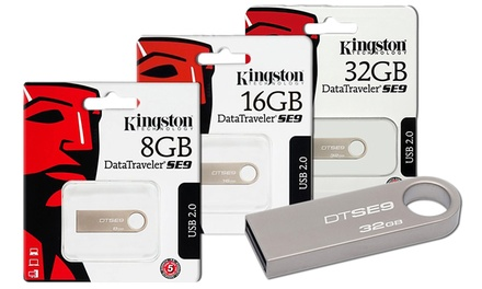 Uma ou duas pendrives USB Kingston DTSE9H desde 5,90 € com envio gratuito
