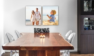 """8""""x10"""", 11""""x14"""", Or 16""""x20"""" Gallery-wrap Canvas Portrait From Canvas People (up To 90% Off)"""