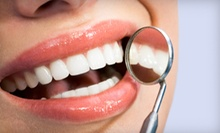 One or Two Dental Exams with Cleaning, X-rays, and Optional Teeth Whitening at My Dentists (Up to 82% Off)
