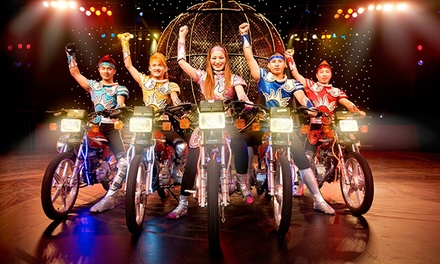 New Shanghai Circus at Mayo Performing Arts Center on Saturday, March 7 at 3 p.m. or 7:30 p.m. (Up to 46% Off)