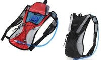 GROUPON: Hydration Backpack with 2L Bladder  Hydration Backpack with 2L Bladder