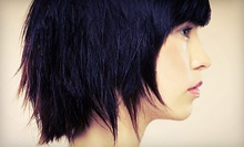 Haircut and Conditioning Treatment with Optional Full Highlights or Single-Process Colour at Salon Ghazi (Up to 68% Off)