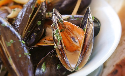 Gastropub Dinner for Two or Four at The Libra Room (Up to 57% Off)