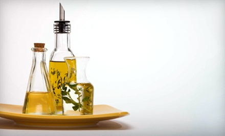 $10 for $20 Worth of Olive Oil and Vinegar at Florida Olive Oil