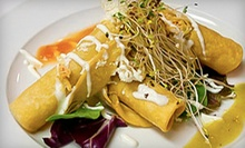 $20 for $40 Worth of Contemporary Mexican Food at La Villa Mexican Grille