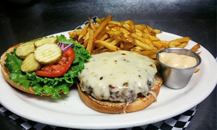 One or Two Groupons, Each Good for $12 Worth of Classic American Diner Food at Hot Rods 50's Diner (50% Off)