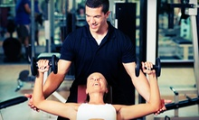 One- or Three-Month Gym Membership with a Monthly Private Training Session at Anytime Fitness (Up to 89% Off)