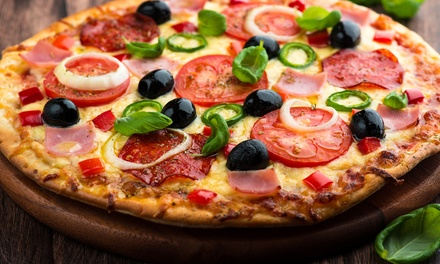 Take-Out Pizza from Parkallen Pizza (40% Off). Two Options Available.