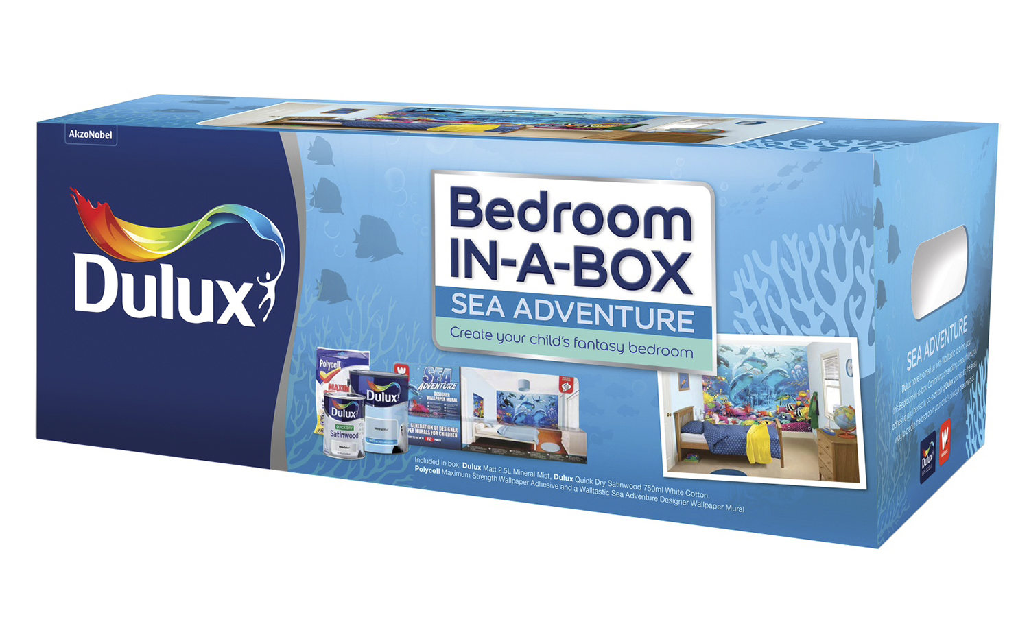 dulux kids 39 bedroom in a box for with free delivery