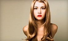 Haircut and Conditioning or Haircut with Highlights or All-Over Color at Visage Salon Studios (Up to 58% Off)