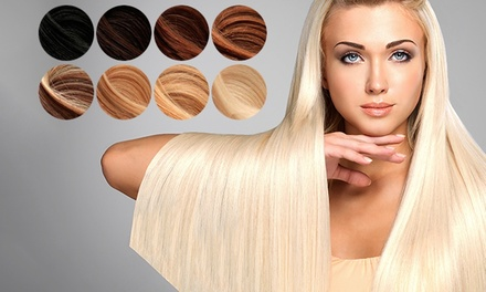 Extensões de cabelo natural Royal Extensions com 46 cm por 26,90€
