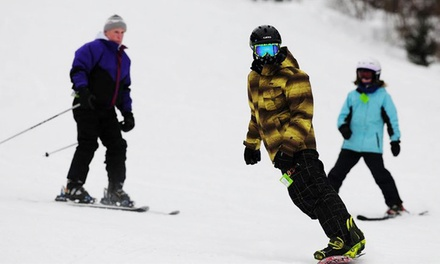 All-Access Ski Lift Tickets for Two, Three, or Four at Spring Mountain Adventures (Up to 51% Off)