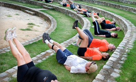 $99 for a Six-Week Boot-Camp Package from X-Team Fitness ($550 Value)
