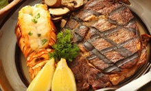 Steak and Seafood for Lunch or Dinner at Springfield Inn (Up to 56% Off). Three Options Available.