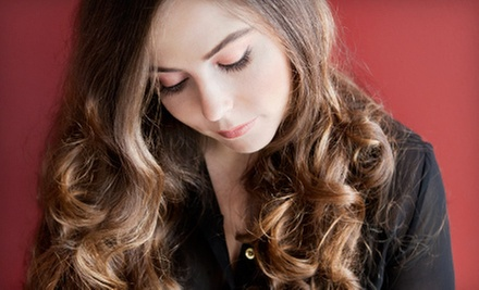 Haircut and Conditioning with Options for Highlights or Color at New York Salon & Spa (Up to 70% Off)