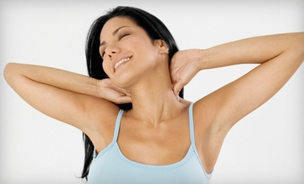 Six Laser Hair-Removal Treatments or a Year of Treatments on a Small or Medium Area at Magnolia Day Spa (Up to 87% Off) 