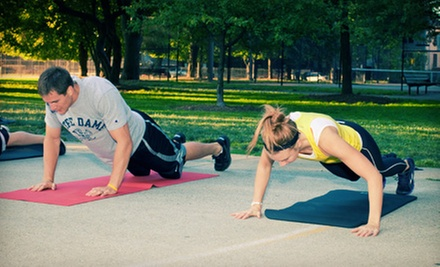 10 or 20 Outdoor Fitness Classes from TriFit Boot Camps (Up to 84% Off)