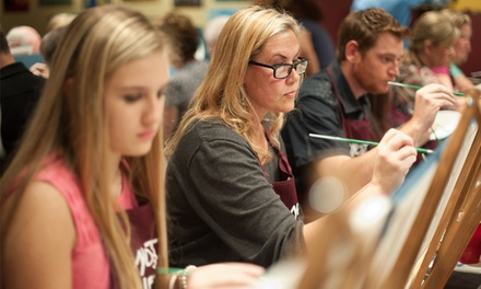 Two- or Three-Hour BYOB Painting Class at Pinot's Palette – Webster Groves (Up to 44% Off)