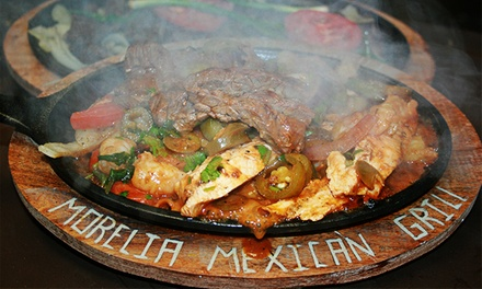 Mexican Lunch or Dinner for Two or More at Morelia Mexican Grill. Three Options Available (Up to 40% Off).