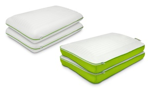 2-pack Of Jelly-soft Memory Foam Pillows