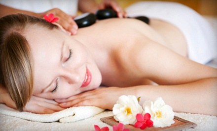 Therapeutic or Deep-Tissue Massage or Massages with Optional Hot Stones at H&amp;M Open Arms Massage Studio (Up to 53% Off)