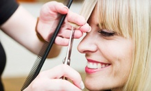 Cut, Shampoo, Style, and Optional Color or Highlights for Medium-Length Hair at Reflection Hair Salon (Up to 54% Off)