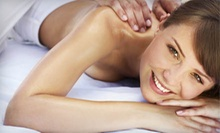 50-Minute Massage, Cocoa-Butter Body Wrap with Scalp Massage, or Both at Signature Massage Services (Up to 55% Off)