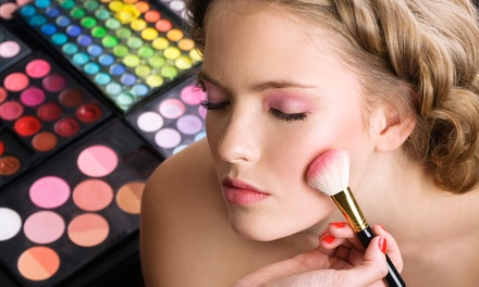 Professional Makeup Lesson for One or Two with Optional False Lash Lesson at Rouge Cosmetics (Up to 67% Off)