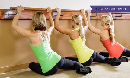 1 Month of Classes or 5 Barre Classes at The Dailey Method in Folsom and Downtown Sacramento (Up 69% Off)