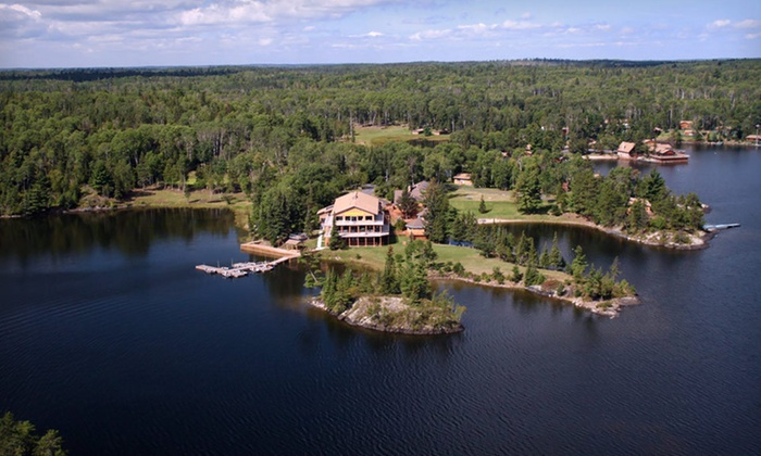 Luxurious ontario fishing resort groupon for Lake of the woods fishing lodges