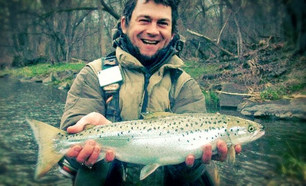 $175 for a Two-Hour Guided Fly-Fishing Trip for Up to Four from Ithaca Rod Company (Up to $399.96 Value)