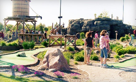 $15 for Four Rounds of Mini Golf at Stone Mountain Family Fun Center in Tecumseh (Up to $30 Value)