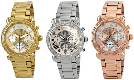 JBW Victory Women's Diamond-Accented Swiss Watches