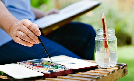 Watercolor Painting Class with Wine and Cheese at Art & Photography School of Colleen Cassidy (Up to 53% Off)