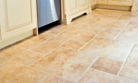 $79 for a Tile-and-Grout Cleaning for Up to 300 Square Feet at Cross Cleaning Company ($178 Value)