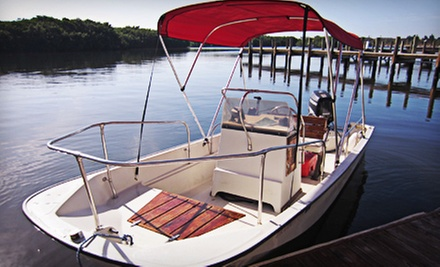 Full-Day 15- or 17-Foot Boat Rental on a Weekday or Weekend from I.C. Sharks (Half Off)