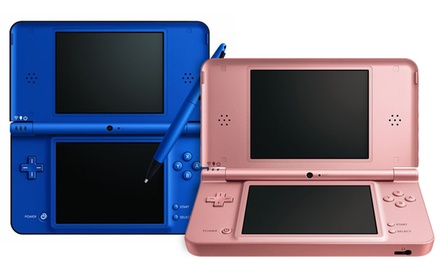 Nintendo DSi XL (Manufacturer Refurbished). Multiple Colors Available. Free Returns.