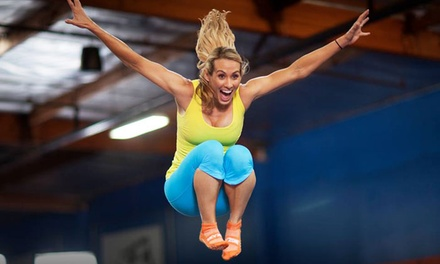 One-Hour of Open-Jump Time at Sky Zone Portage (50% Off). Two Options Available.